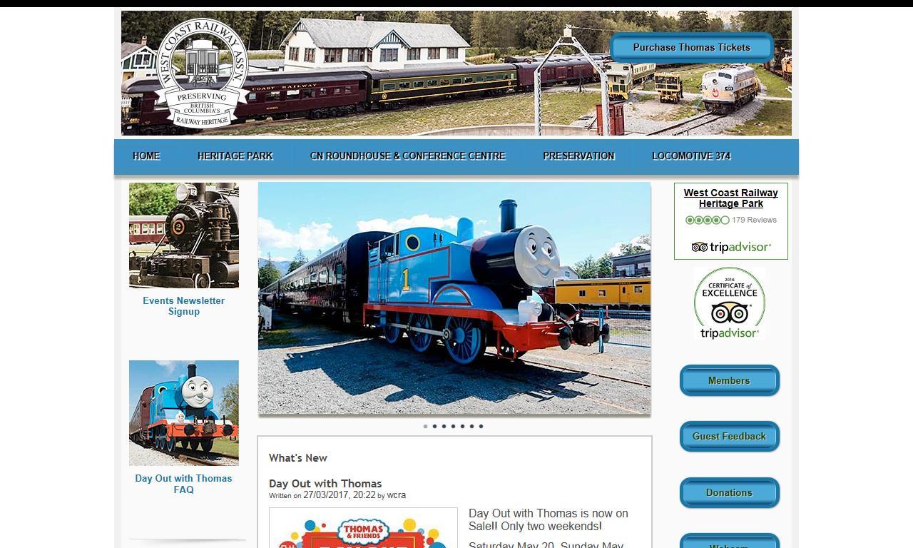 West Coast Railway Association