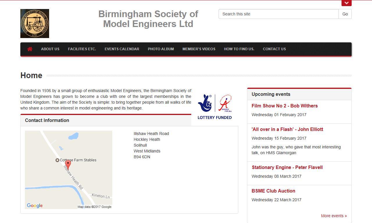 Birmingham Society of Model Engineers